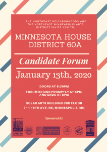 State Rep Candidate Forum January 13