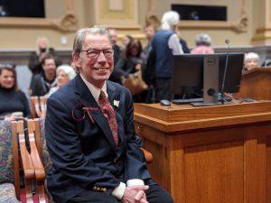 City Leaders Honor Noted Mpls Artist Aldo Moroni
