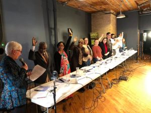District-sponsored Forum Connects Hundreds to Candidates
