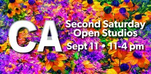 California Building Second Saturday Open Studios Sept 11th, 11-4pm